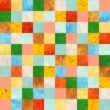 与纸样式的无缝的背景 免版税库存图片