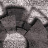 与纹理和技术元素的技术设计 免版税库存照片