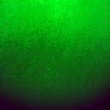 与纹理和梯度颜色设计版面,绿皮书的黑和绿色背景 免版税图库摄影