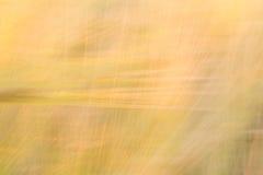 与线优势的被弄脏的黄色抽象背景  免版税库存图片