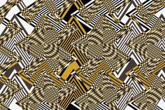 与线和形状的一个抽象设计 库存图片