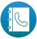 与线和积土象的电话目录被隔绝的传染媒介 皇族释放例证