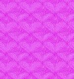 与线性心脏的桃红色无缝的样式 装饰网纹理 免版税库存图片