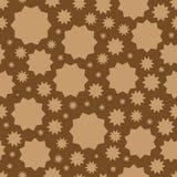 与线性星,有角几何图的传染媒介几何装饰品纹理 向量例证