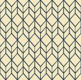 与线的抽象几何样式 库存例证