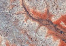 与线的沙漠纹理 库存图片