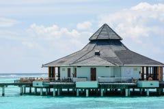 与结束水餐馆的美好的惊人的风景视图 库存图片