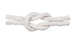 与结的绳索, 图库摄影