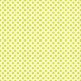 与绿色小点的无缝的样式 向量 免版税库存照片