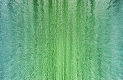 与绿色正方形和立方体的技术背景 免版税库存图片