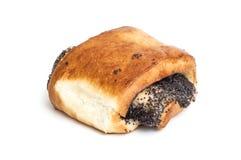 与罂粟种子的小圆面包 免版税图库摄影