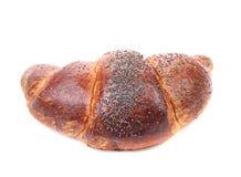 与罂粟种子的小圆面包 免版税库存图片