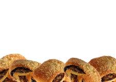 与罂粟种子的小甜面包 库存图片