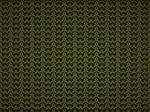 与网眼图案黄色样式的抽象背景 3d回报 数字式例证 库存图片