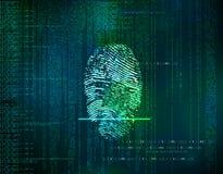 与网络co的未来派蓝色技术摘要背景 图库摄影