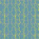 使有大理石花纹的格子花呢披肩纹理的抽象无缝的样式例证 向量例证