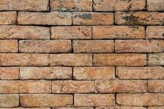 与老砖墙的抽象背景 免版税库存图片