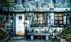 与老门的老大厦, 免版税库存图片