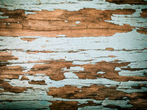 与老颜色的土气木背景 免版税库存图片