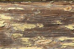 与老weatherd油漆的木头作为背景 库存图片