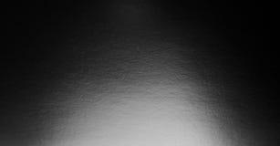 与聚光灯的抽象黑色背景 免版税库存照片