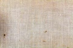 与肮脏的斑点的老纺织品纹理特写镜头 抽象背景 库存图片