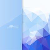 与背景纹理的蓝色光滑的空白 皇族释放例证