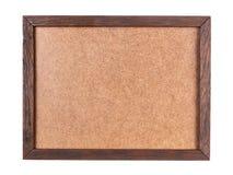 与胶合板板的木框架 免版税图库摄影