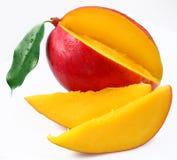 与腹片的芒果。 免版税库存图片