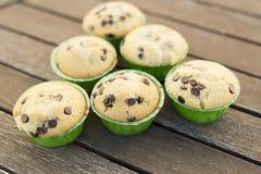 与自然产品的自创松饼 库存照片