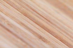与自然样式的竹木纹理 有选择性集中 库存照片