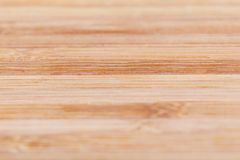 与自然样式的竹木纹理 有选择性集中 免版税库存照片