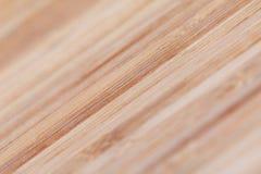 与自然样式的竹木纹理 有选择性集中 免版税库存图片