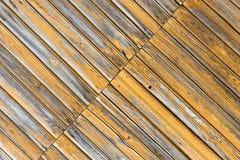 与自然样式的老木纹理 免版税图库摄影