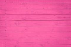 与自然样式,紫色,桃红色颜色的木纹理背景 库存照片