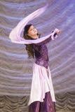 与舞蹈的Goreglyad伊丽莎白 免版税图库摄影