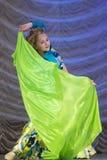 与舞蹈的Volchkova Violetta 图库摄影