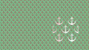 与船锚的样式,背景 库存照片