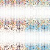 与色圈子的背景在传染媒介 库存例证