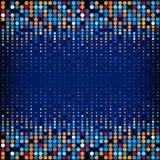 与色环的背景在传染媒介 库存照片