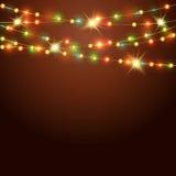 与色的诗歌选的假日背景 免版税库存照片