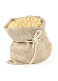 与芝麻籽关系的大袋  免版税库存照片