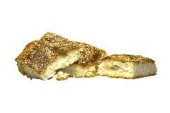 与芝麻籽的面包 库存图片