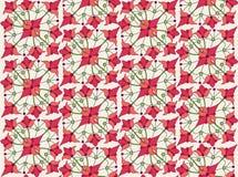 与花卉主题的无缝的纹理 图库摄影