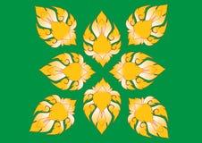 与花的华丽花卉不尽的样式 免版税图库摄影