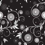 与花的无缝的纹理。 皇族释放例证