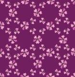 与花饰的无缝的纹理 库存照片