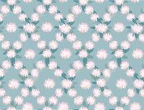 与花饰的无缝的纹理 图库摄影