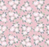 与花饰的无缝的纹理 库存图片