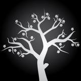 与花eps10的树 库存图片